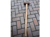 3 foot heavy duty lump hammer