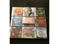 Pink Nintendo ds 12 games case and stylus South Shields