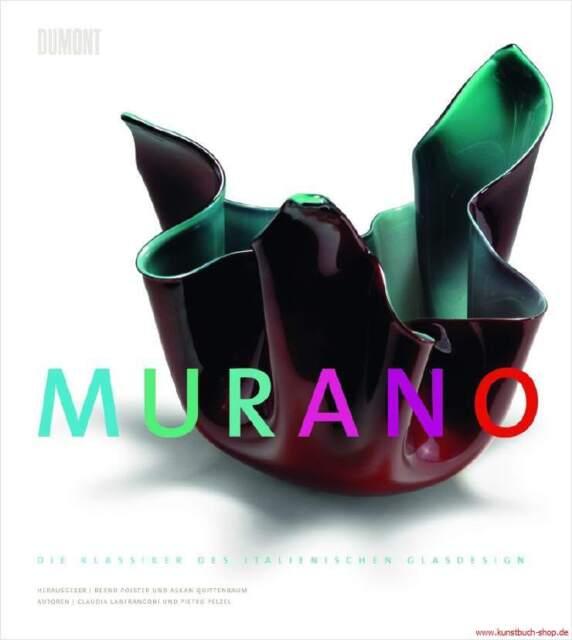 Fachbuch Murano, Die Klassiker des italienischen Glasdesigns, STATT 68 Euro NEU