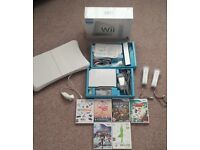 BOXED Nintendo Wii + 6 Games + Wii Fit Board + 3 Controls + 2 Nunchucks -£45 FREE DELIVERY EDINBURGH