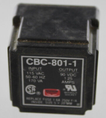 Altra Industrial Motion Warner Electric Cbc 801 1 Power Supply