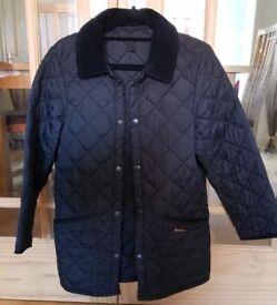 Barbour medium boys jacket