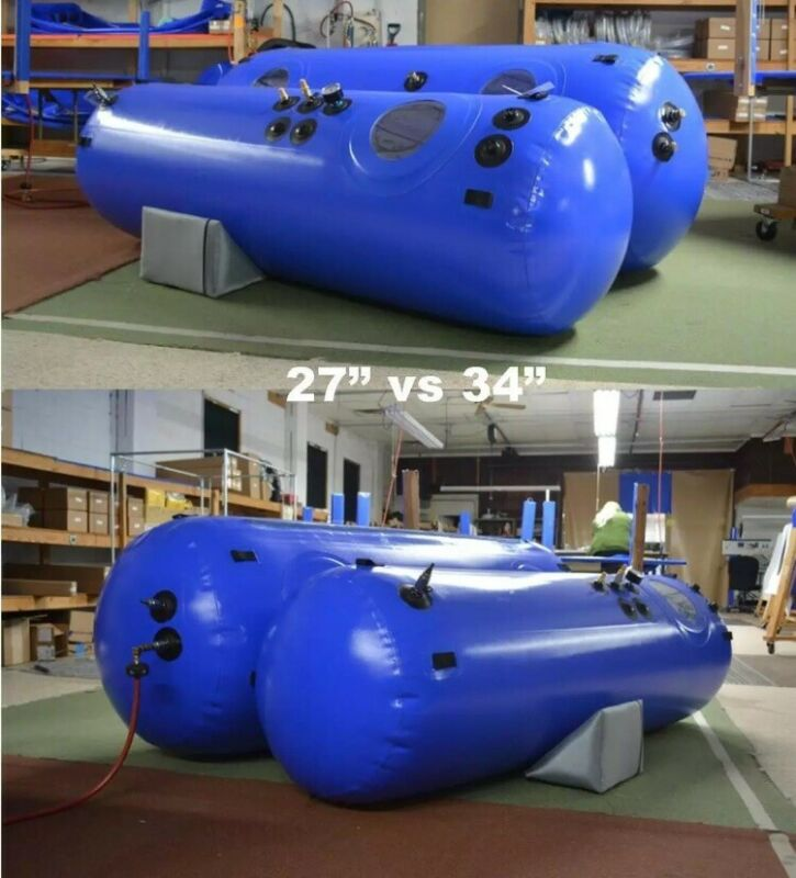 Hyperbaric Oxygen Chamber Brand New Newtowne 27 Inch