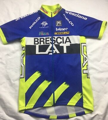 Sms Santini Brescia LAT Short Sleeve Cycling Jersey Size Large Used 30e452fe6