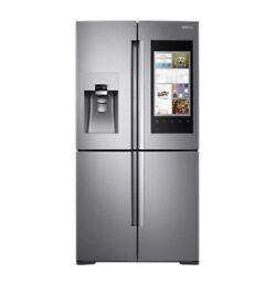 SAMSUNG Family Hub RF56M9540SR American-Style Smart Fridge Freezer