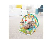 Fisher-price snuga monkey musical play gym / mat - new and boxed
