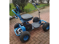 Single seater golf buggy