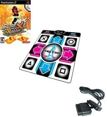 Used, Playstation 2 DDR X Dance Dance Revolution +1x PS2 Dance Mat +1x Extension Cable for sale  Shipping to South Africa