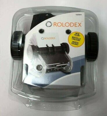 Rolodex Professional Business Card Contact File 1820941 200 Sleeved Cards Silver