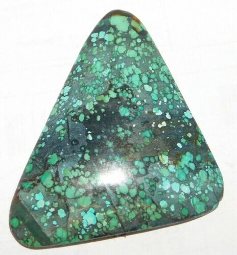 75 Cts Natural Tibetan Turquoise Cabochon Loose Gemstone 1 Pieces 33729