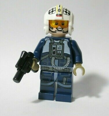 U/Y Wing Rebel Pilot 75155 75172 Rogue One Star Wars Lego Minifigure