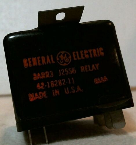 General Electric Start Relay, HVAC, 42-18282-11, 3ARR3, J25S6, USA MADE, NEW