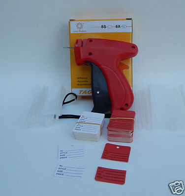 Fine Clothing Price Tagging Gun W 2 Tag Needles 1000 Barbs 100 Price Labels
