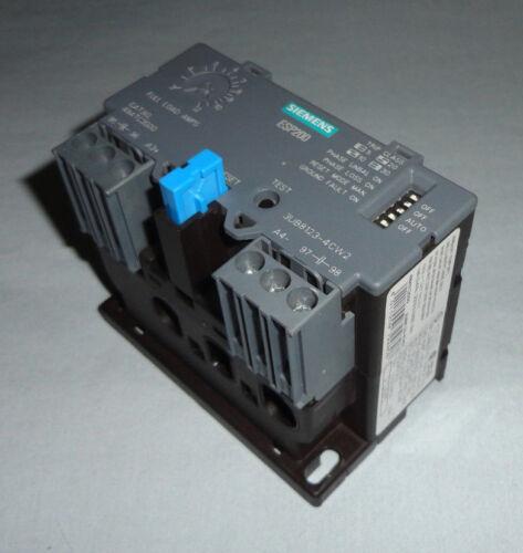 Siemens 3UB8123-4CW2 Overload Relay 3UB81234CW2 48ATC3S00 USED