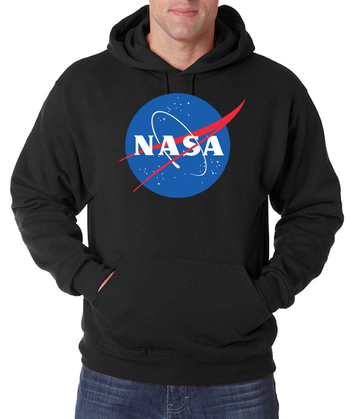 TRVPPY Herren Hoodie Pullover Kapuze NASA Astronaut Apollo Space Größe S - 5XL