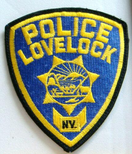 POLICE LOVELOCK NV.~ NEVADA FABRIC PATCH