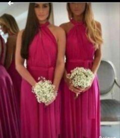 3 Multiway bridesmaid dresses