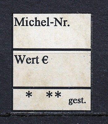 1000x Briefmarken - Etiketten - edele Ausführung