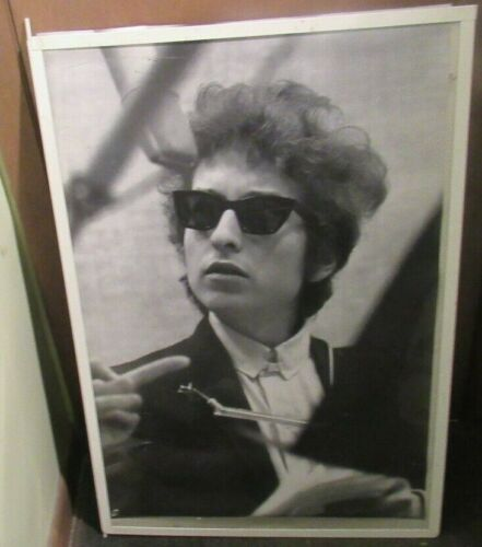 BOB DYLAN POSTER NEW 2002 RARE VINTAGE COLLECTIBLE OOP LIVE