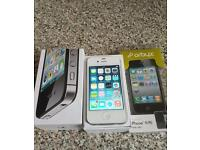 Boxed Fairly used 16GB iPhone 4s on EE network and Icloud free