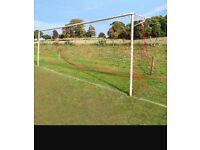 11 a side football nets x2