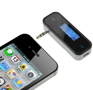 3.5mm In-car Wireless Fm Transmitter with Charger USB f iPhone 4S/5 Cellphone SS