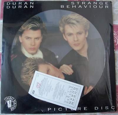 DURAN DURAN - STRANGE BEHAVIOUR LP PICTURE DISC ITALY 1986 SIGILLATO