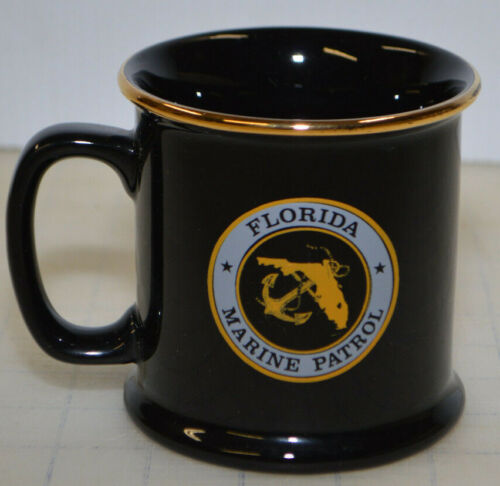 FLORIDA MARINE PATROL NATIONAL SANCTUARY LAW ENFORCEMENT MUG - 15 YEARS SERVICE
