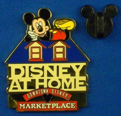 Disney at Home Mickey Mouse on Roof Downtown Disney Marketplace Shop Pin # 4341