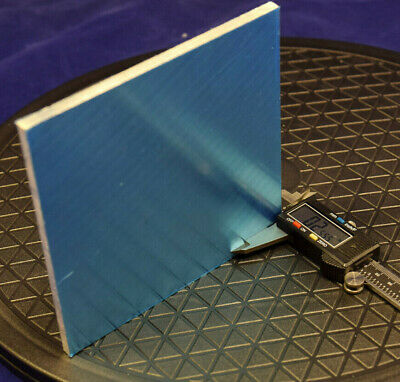 Aluminum Platesheet 6 X 6 X .25 Inch Professionally Cut In Factory