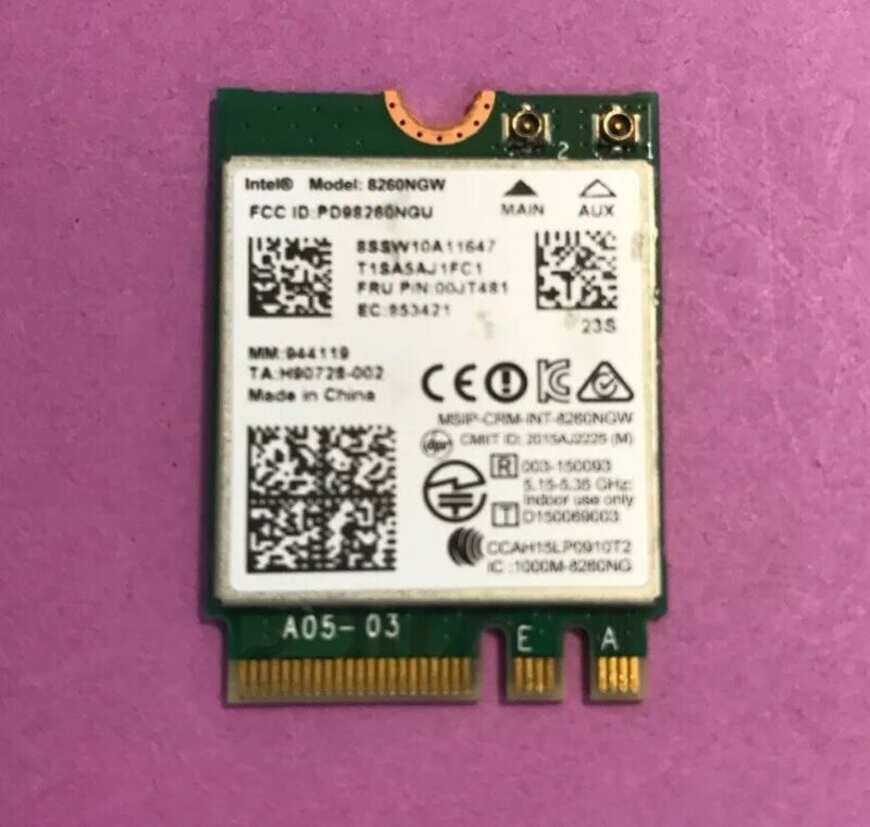 *USED* LENOVO YOGA 710-15IKB INTEL MODEL: 8260NGW WiFi WIRELESS CARD
