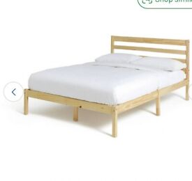 FREE - URGENT Double bed and mattress