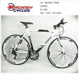 Brand New aluminium 21 speed hybrid road bike ( 1 year warranty + 1 year free service ) ew9