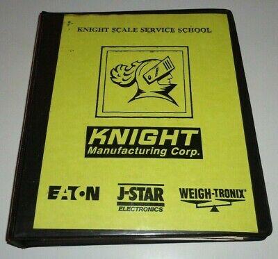 Knight Scale Service School Manuals Binder Eaton J-star Weight Tronix