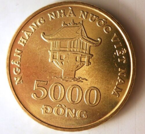 2003 VIETNAM 5000 DONG - AU - Hard to Find Coin - FREE SHIPPING - BIN #LLL