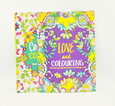 A4 Size Adult Colouring Book Thearpy Stress Relieving Modern Pattern And Designs