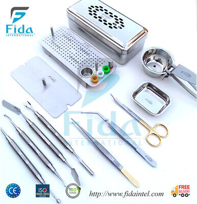 2019 PRF Instruments Box GRF System Platelet Rich Fibrin Dental Implant Kit