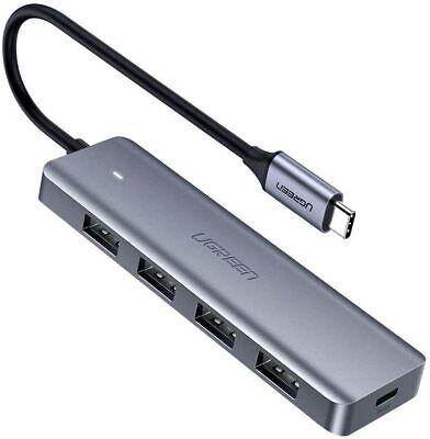 UGREEN HUB USB TIPO C - 4 PUERTOS USB 3.0 5Gbps -...