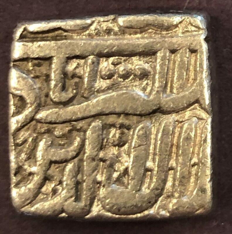 India - Mughal, Muhammad Akbar, Silver Rupee, KM# 86.1, AH 1000, XF, 10.89g