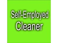 Self-employed Cleaner in Enfield, Palmers Green, Winchmore hill, 12£/hr