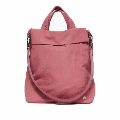 NWT Lululemon On My Level Bag ~19L~ Cherry Tint&True Navy&Pink Taupe