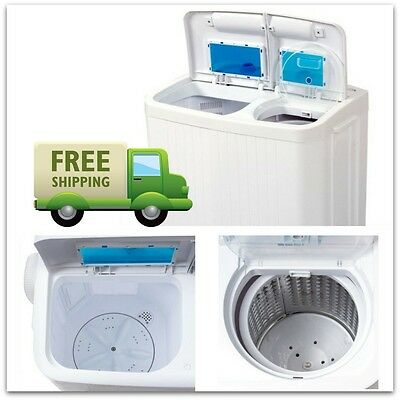 غسالة و مجفف ملابس جديد Washer And Dryer All In One Combo Compact Portable Machine RV Apartment Size Top