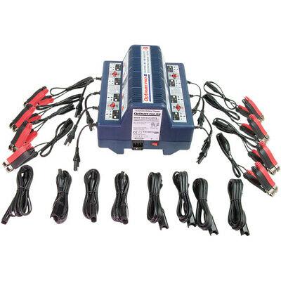Tecmate Optimate Pro8 8 Battery Charger Maintainer Desulfating Motorcycle Tender