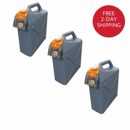 6 Gallon Water Carrier Jug  Plastic Container, Camping, Hiki