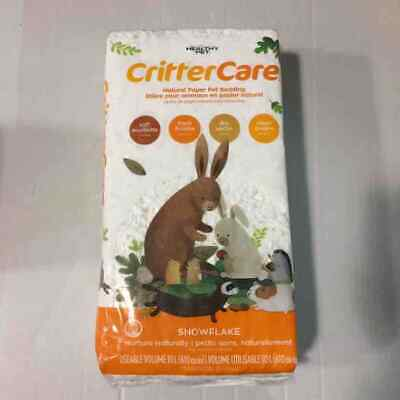 Critter Care Snowflake Bedding for Small Animals, 10L