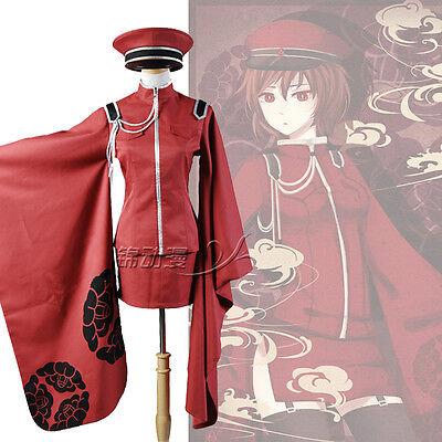 Vocaloid Senbonzakura Meiko Kimono Cosplay Costume Avec Chapeau (Meiko Cosplay Kostüm)
