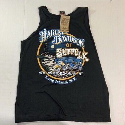 VTG 90s Harley Davidson Long Island NY Eagle T Shirt L USA NEW for sale  Shipping to Canada