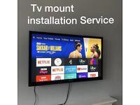 Tv bracket install service