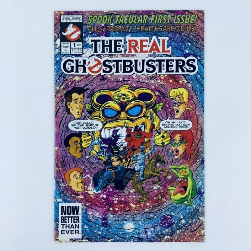 THE REAL GHOSTBUSTERS #1 - Now Comics 1991 - NM!!!