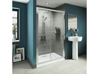 Form your own walk in shower using a 1200mmx900mm tray and sliding door